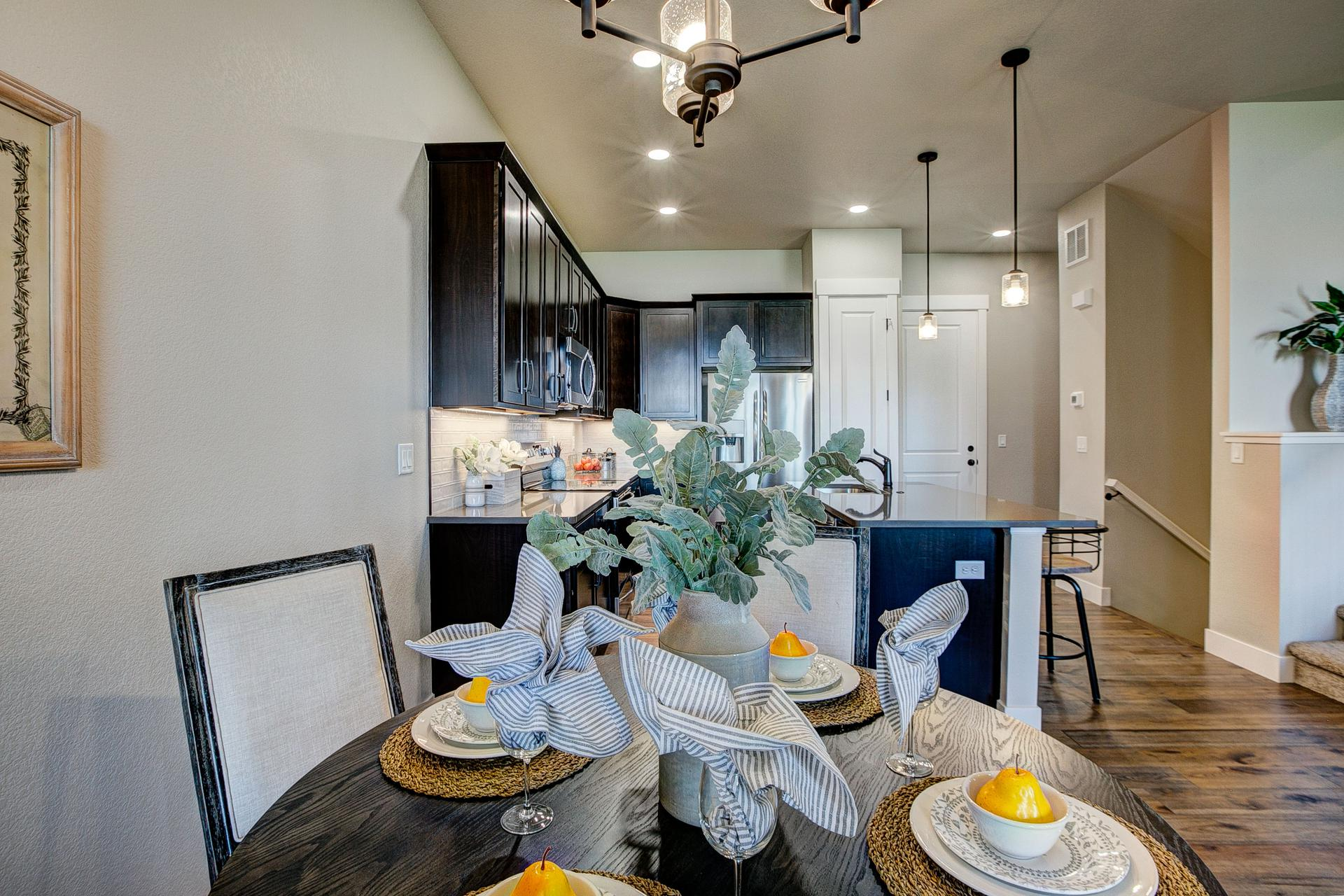 Dining Room - Not Actual Home - Finishes Will Vary