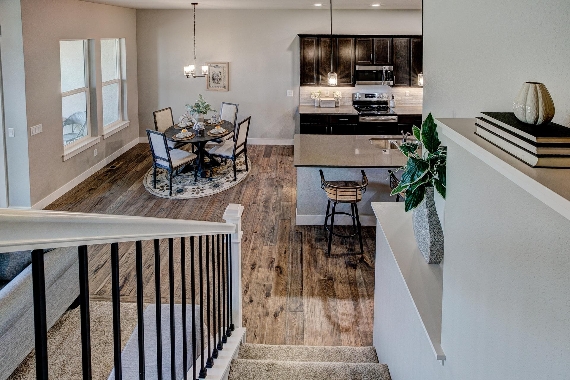Kitchen/Dining Room - Not Actual Home - Finishes Will Vary