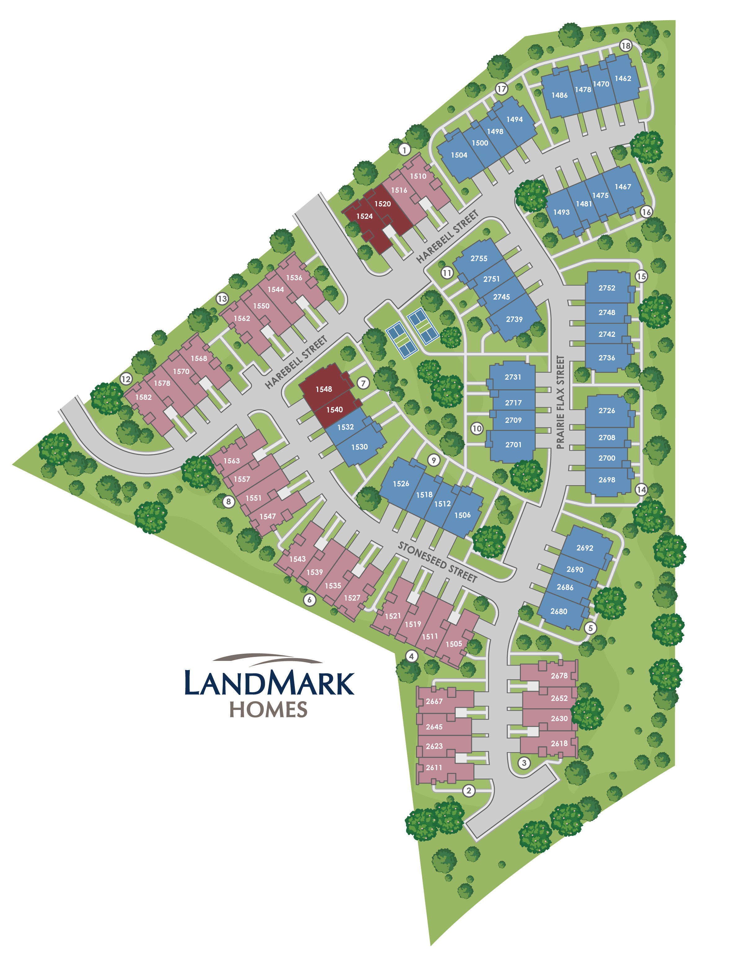 Berthoud, CO Heron Lakes Townhomes at TPC Colorado Golf Course New Homes from Monticello Homes