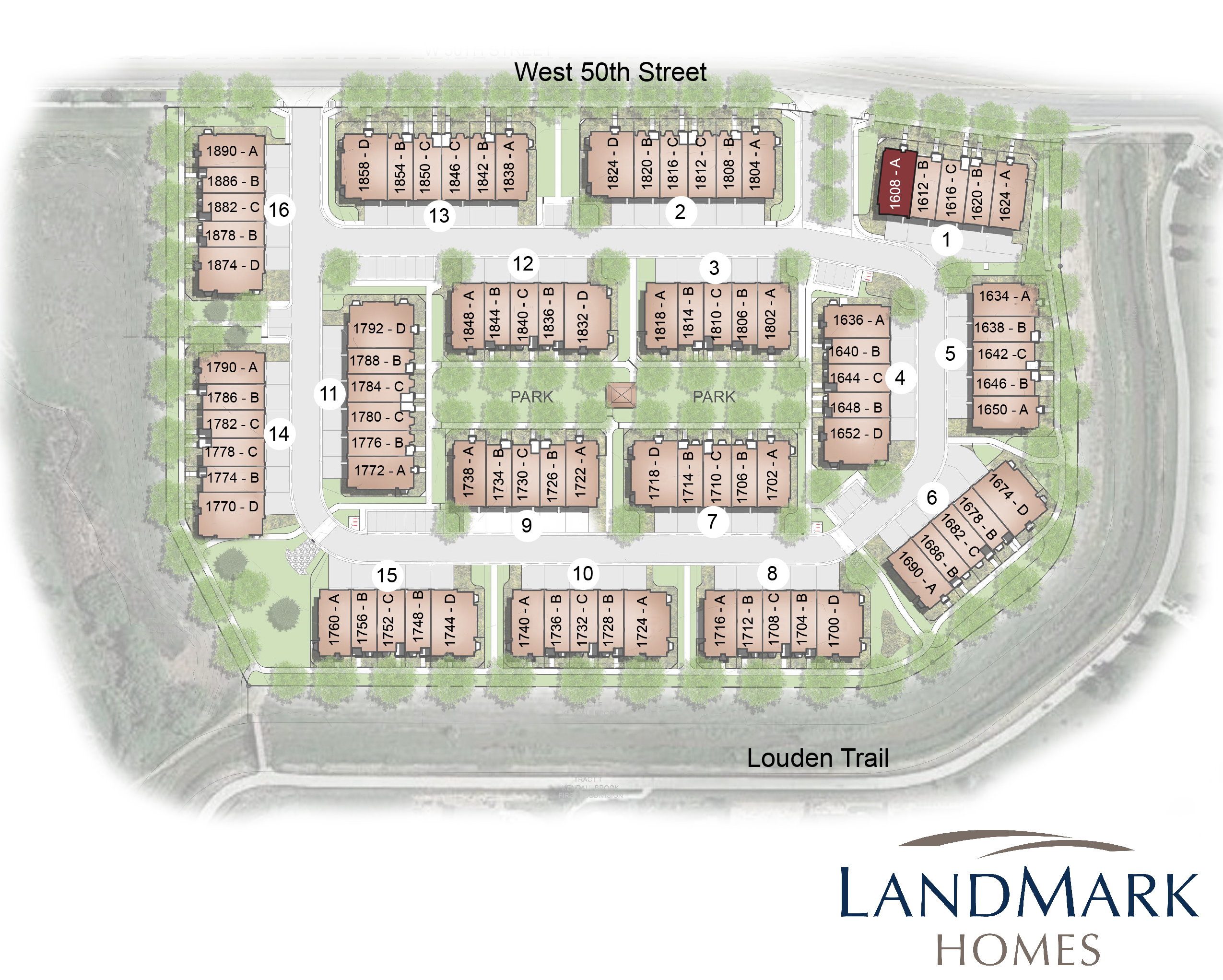 Loveland, CO Kendall Brook New Homes from Monticello Homes